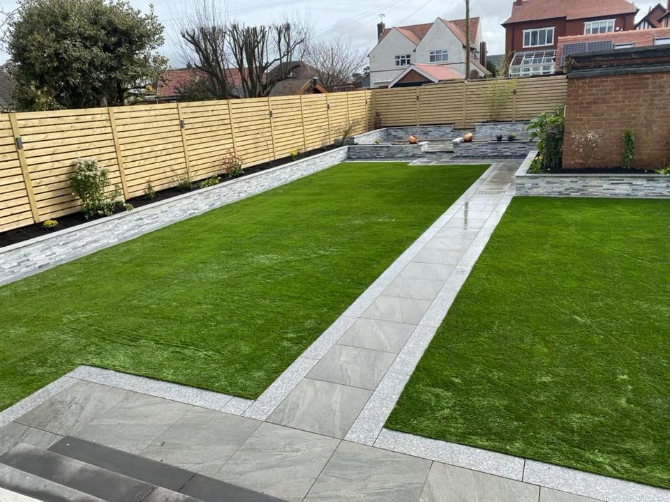 Landscape Gardening - MF Resin Driveways - Artificial Lawns